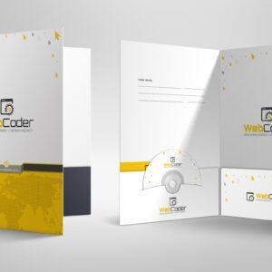 Company Folder and Presentation Folder Designs