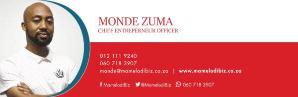 MamelodiBiz Email Signature Design