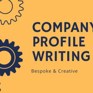 Company Profile Writing Service